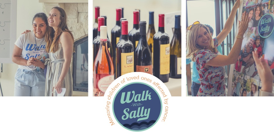 Daou wine tasting package for walk with sally's fundraiser