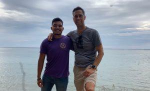 Matthew & Ed mentor and mentee